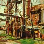 industrie II öl/leinw. 55x70cm