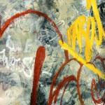 graffiti öl/leinw. 100x150cm