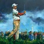 golf öl/leinw. 120x150cm