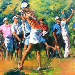 golf I öl/leinw. 120x150cm